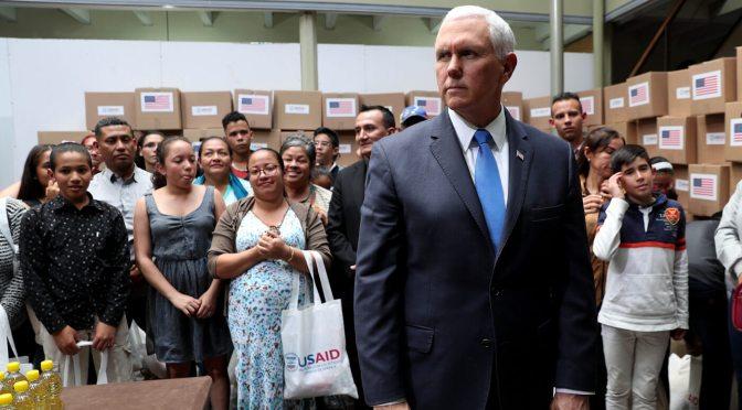 """Estados Unidos insiste en """"ayuda humanitaria"""" en Venezuela, pero ayuda a crear una crisis humanitaria en Yemen"""