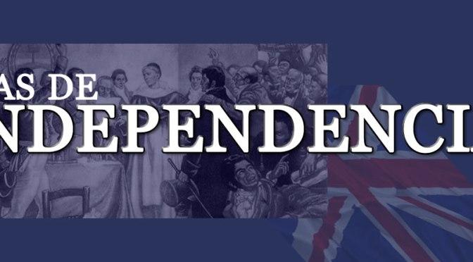 La independencia de los países latinoamericanos dirigida por el Reino Unido