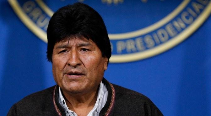 El golpe de estado en Bolivia tiene todo que ver con la pantalla que usas para leer esto