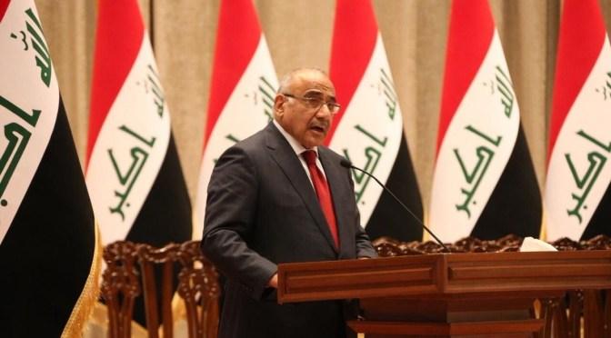 EL PRIMER MINISTRO DE IRAK: La historia más profunda detrás del asesinato de Soleimani. Washington amenaza con participar en disparos de francotiradores de falsa bandera.