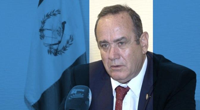 Las corporaciones mineras mundiales tienen un amigo en el nuevo gobierno guatemalteco
