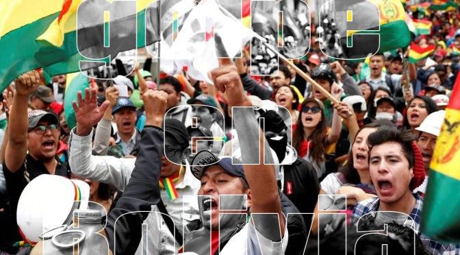 Bolivia y el modelo de Honduras: golpe, proscripción y fraude