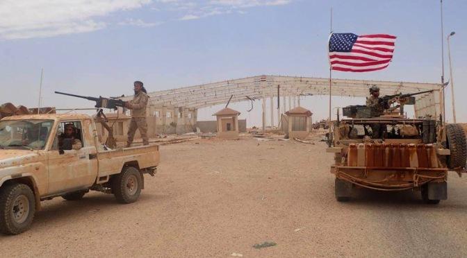 EE.UU. acusado de utilizar la ayuda alimentaria para el contrabando de armas a los militantes en el campo de refugiados de Rukban en Siria