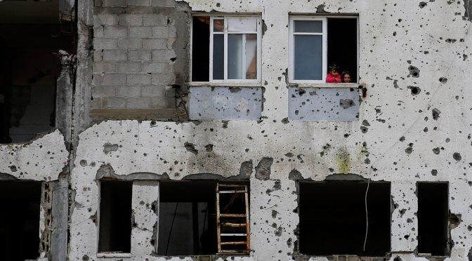 """Un escenario de pesadilla: El Coronavirus en la """"Cuarentena"""" de Gaza"""