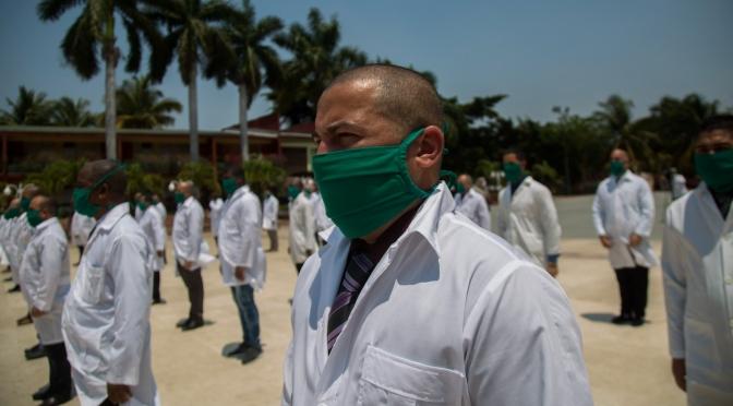Solidaridad en tiempos de pandemia, mientras EE.UU. saca provecho de los desastres