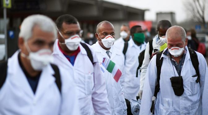 Durante el Coronavirus: Cuba al rescate, pero no le digas al pueblo estadounidense