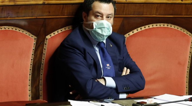 Después de COVID-19: ¿Matteo Salvini liderará la derecha radical de Europa?