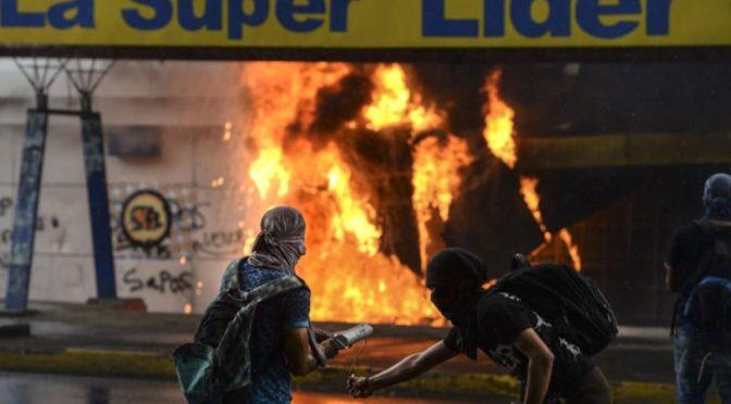 El violento golpe fallido de los Estados Unidos contra Nicaragua. La falsedad de los medios de comunicación occidentales