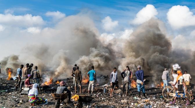 La exportación de desechos químicos tóxicos a los países pobres debe terminar, dice la ONU