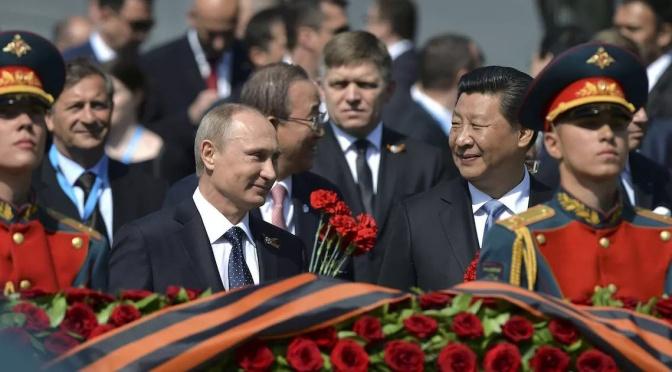 La visión de Putin para un futuro antifascista/sistema abierto y tú