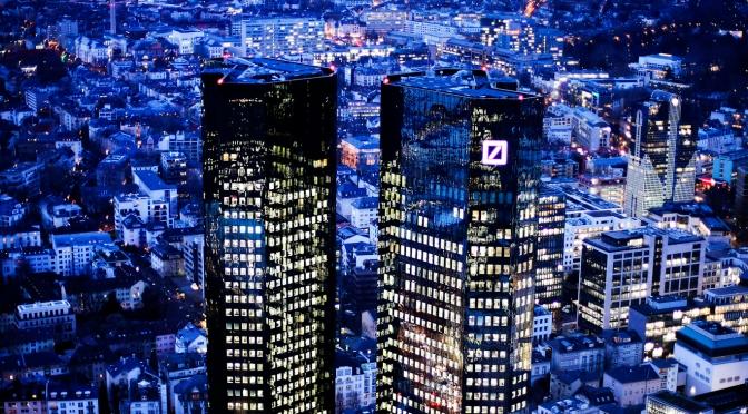 El escándalo de lavado de dinero del Deutsche Bank podría crear la mayor crisis económica de la historia