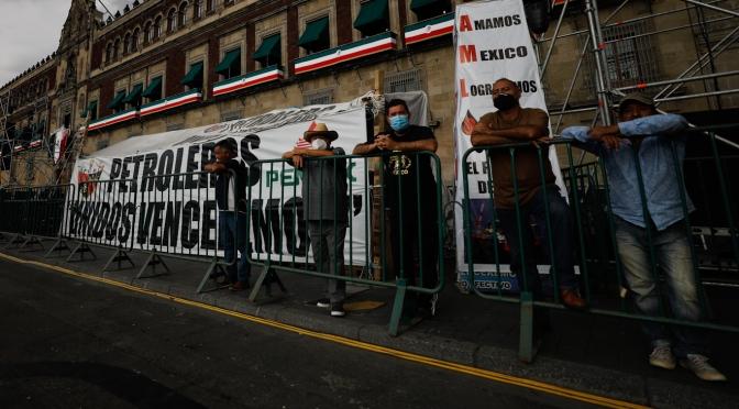 México renacionalizará el petróleo el próximo año si las leyes actuales no salvan a la tambaleante PEMEX