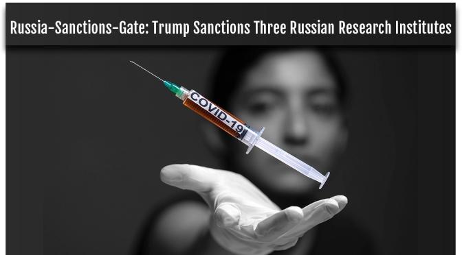 Rusia-Sanciones-Gate: Sanciones de Trump a tres institutos de investigación rusos