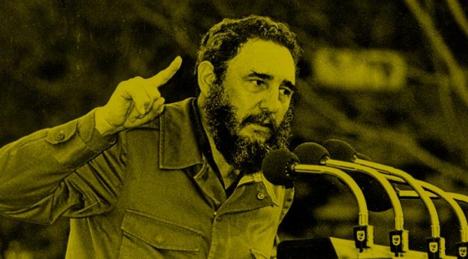 """El discurso de Fidel Castro en 1960 en la ONU hizo más por la lucha anticolonial que la hipérbole de la ONU sobre la """"erradicación del colonialismo""""."""