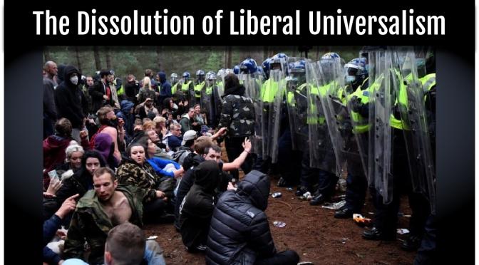 La disolución del universalismo liberal