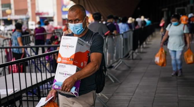 Reporte: 56 millones de estadounidenses dependieron de los bancos de alimentos durante la pandemia