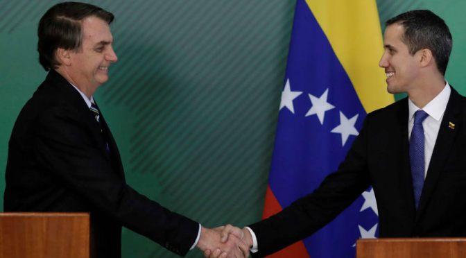 Juan Guaidó crea un consulado paralelo en Brasil