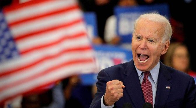 Una administración Biden estará dominada por más agresión de los EE.UU.