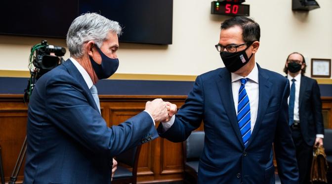 Con el alquiler congelado a punto de expirar, Mnuchin presiona para obtener más rescates de Wall Street