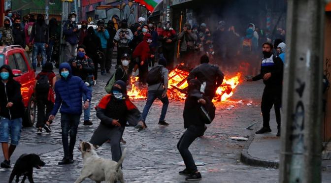 En Chile se criminaliza la resistencia y se absuelve a los autores de crímenes contra la humanidad
