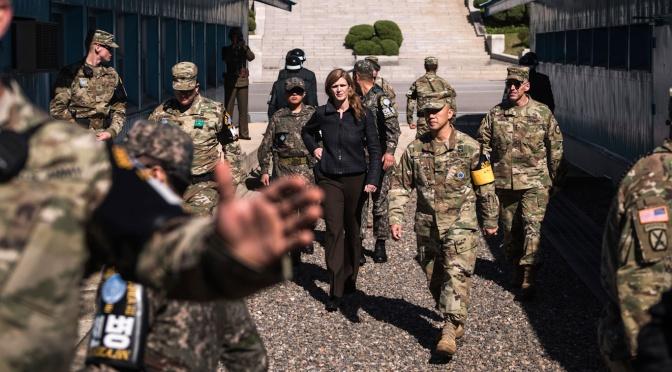 Un registro de la intervención de la Hawkish: Biden escoge a Samantha Power para dirigir USAID