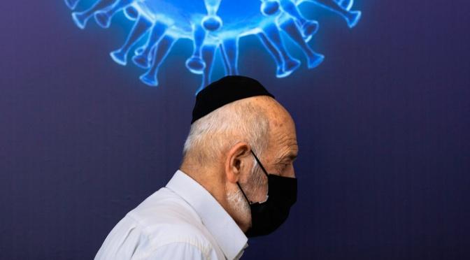 """Los medios de comunicación elogian la vacuna COVID de Israel como una forma de """"Apartheid médico""""."""