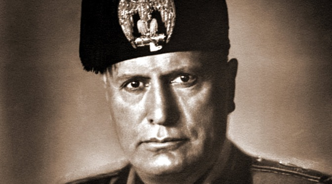 La historia del apoyo estadounidense y británico al fascismo de Mussolini
