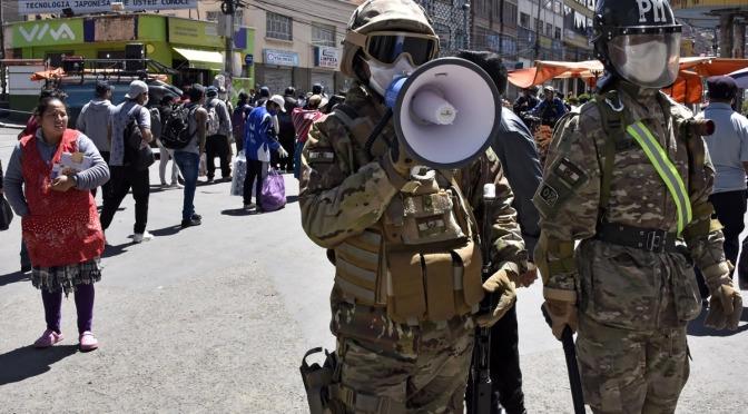 «La vanguardia del golpe en Bolivia fueron los medios de comunicación»