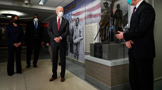 """Joe Biden dice al mundo que """"Estados Unidos ha vuelto"""", pero no es que se haya ido a ninguna parte"""
